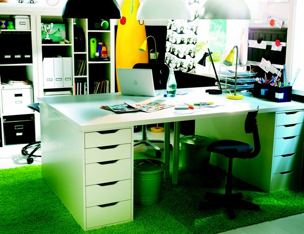 collection ikea 2011 les bureaux ikeaddict. Black Bedroom Furniture Sets. Home Design Ideas
